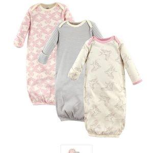 6 Nwot organic sleep gowns lot